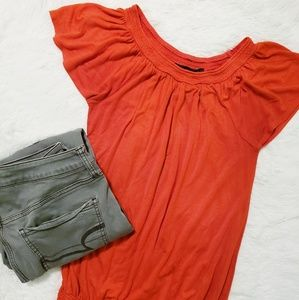 The Limited ruffle sleeve top